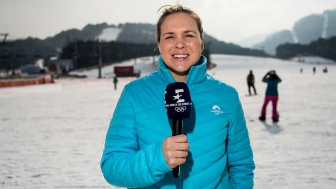 Anja Pärson på plats i Pyeongchang. Foto: PETTER ARVIDSON / BILDBYRÅN