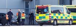 60-årig man död  i arbetsplatsolycka