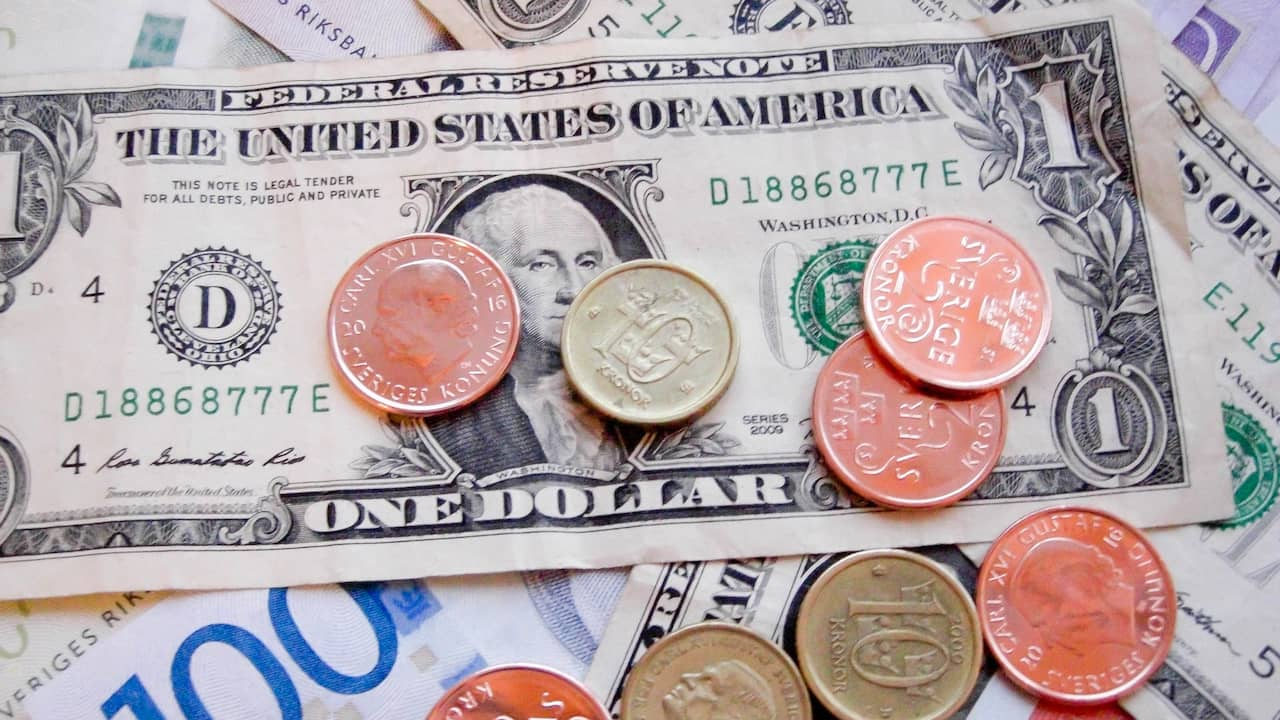 Dollarn allt starkare rantorna ned