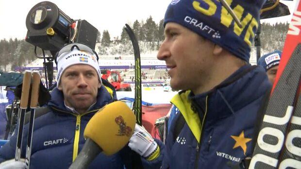 Jönsson och Peterson om åttondeplatsen