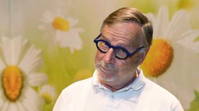 Sven Melander berättade öppet i mars att han drabbats av cancer. Foto: FREDRIK SANDBERG/TT / TT NYHETSBYRÅN