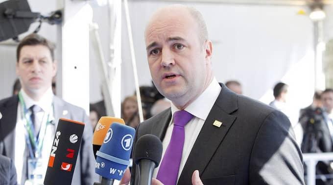 Fredrik Reinfeldt tackar nej till en debatt med Håkan Juholt om sjukvården inför omvalet i Västra Götalandsregionen den 15 maj. Foto: Sebastien Pirlet