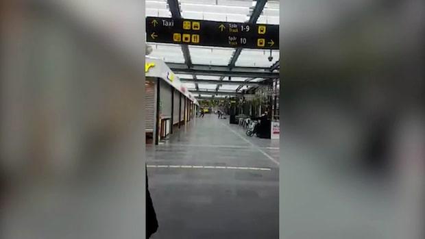 Mannen som hotade spränga Malmö central häktad