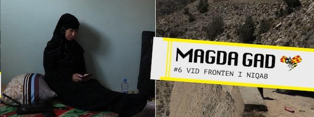 Magda Gad - Vid fronten i niqab