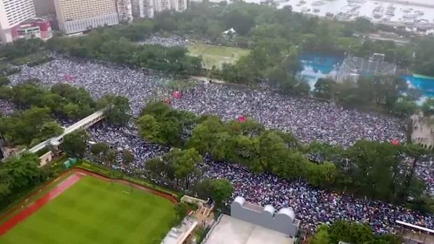 Kina godkänner ny säkerhetslag för Hongkong