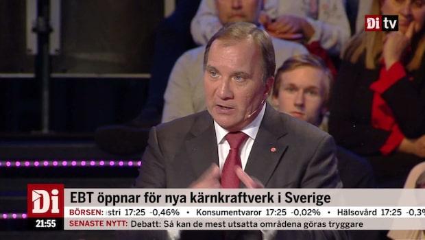 """Löfven (S): """"Vi måste låta väljarna bestämma"""""""