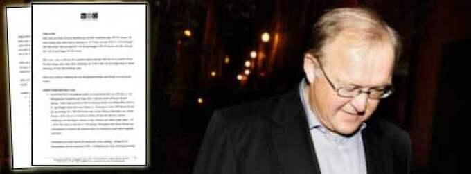 En byggherre stämmer Göran Persson på en halv miljon kronor efter en tvist om utförda arbetstimmar. Foto: Christian Örnberg