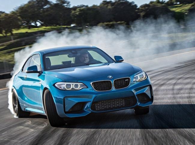 """BMW M2 är Clarksons favorit bland M-bilarna genom tiderna – """"En bil som är bättre än summan av sina delar""""."""