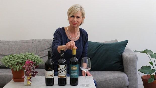 Röda viner under hundringen