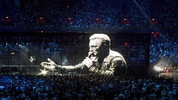 U2:s konsert i Stockholm i onsdags. Foto: Olle Sporrong