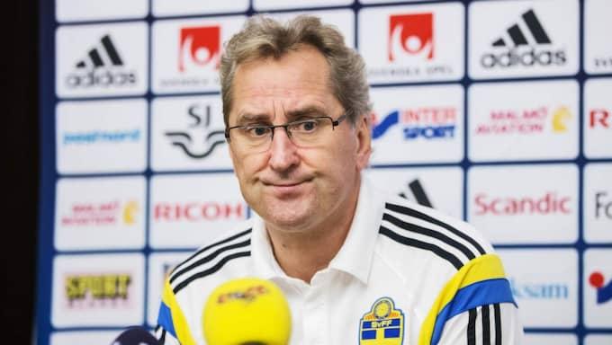 Erik Hamrén. Foto: Nils Petter Nilsson
