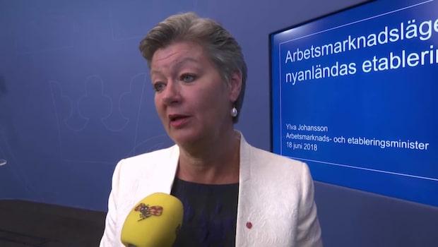 """Ylva Johansson (S): """"Det går nästan dubbelt så fort"""""""