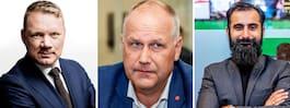 Jonas Sjöstedt och Hanif Bali gäster i Expressens