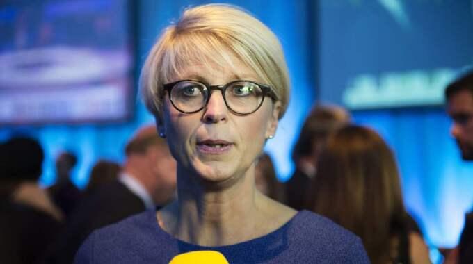Tidigare i dag föreslog Moderaterna, via Elisabeth Svantesson, ett omfattade program för att minska Sveriges kostnader på integrationsområdet. Foto: Anna-Karin Nilsson