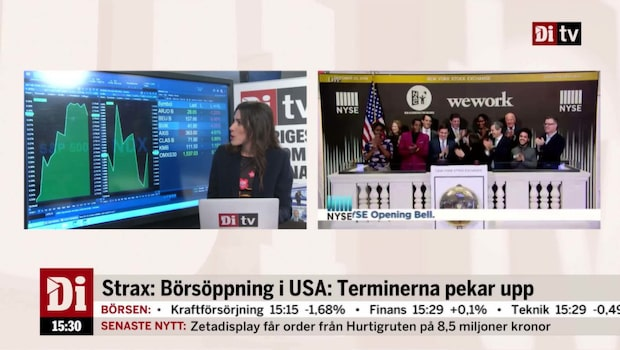Börsöppning i USA: S&P500 öppnar upp