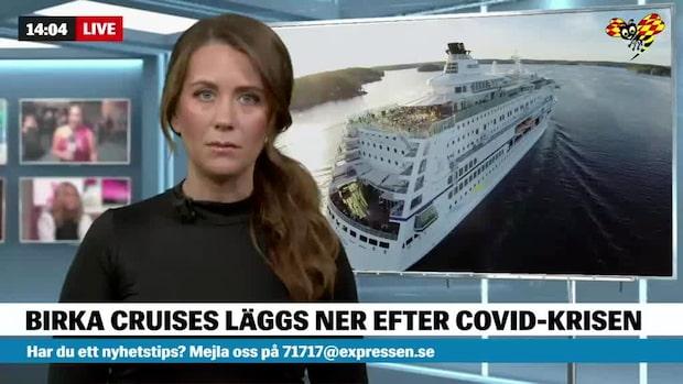 Birka Cruises läggs ned på grund av corona