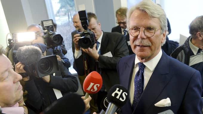 Nordeas ordförande Björn Wahlroos antyder i en intervju med Bloomberg News att huvudkontoret kan hamna längre bort än hos grannländerna i Norden. Foto: VESA MOILANEN / AP LEHTIKUVA