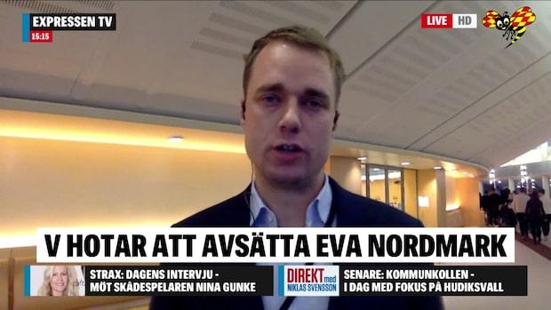 """Thomas Nordenskiöld: """"Hade varit ett oerhört stort bakslag för Löfven"""""""
