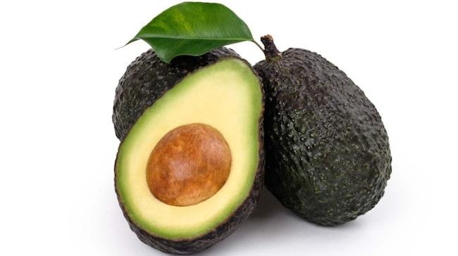 <span>Exempelvis avokado som är rikt på B-vitamin.</span>