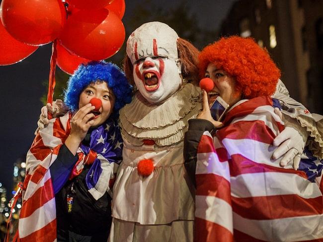 New Yorks årliga Greenwich Village Halloween Parade.