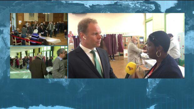 Så är säkerheten i vallokalerna i Frankrike
