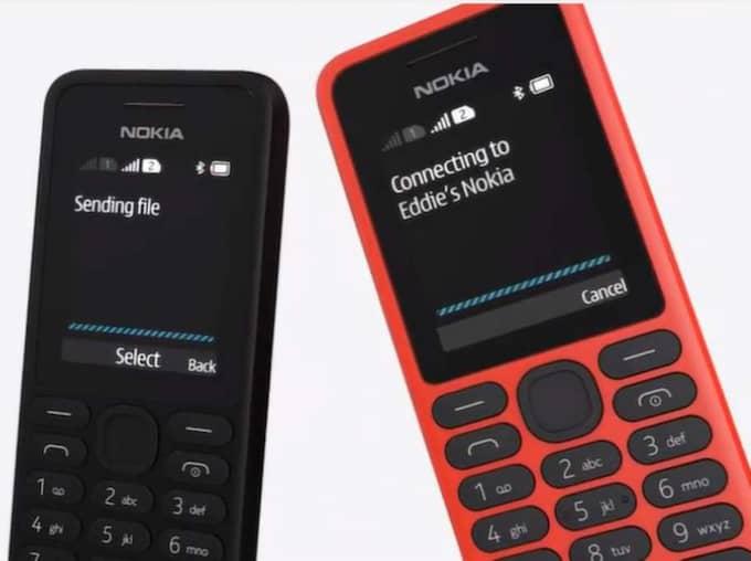 Telefonen har funktioner som radio och musikspelare, men ingen internetanslutning.