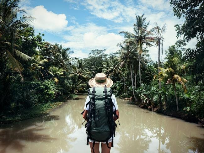 Att resa ensam gör att du tvingas ur din komfortzon.