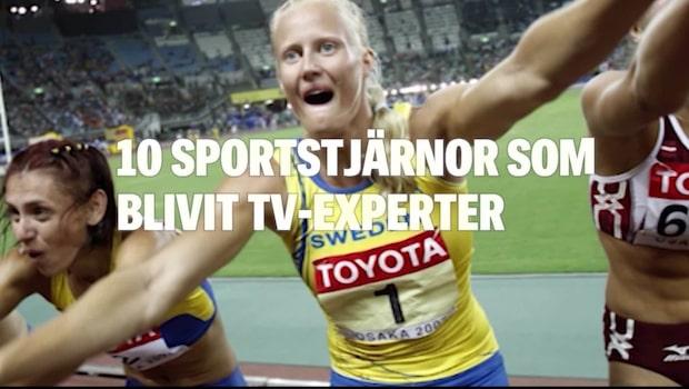 10 sportstjärnor som blivit tv-experter