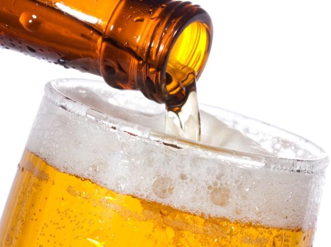 ...och det får även öl. De tu i kombination måste alltså vara fantastisk.