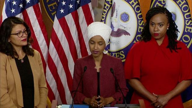 Trumps attacker fördöms som rasistiska