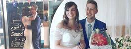Paret fick drömbröllop –  230000 kronor billigare