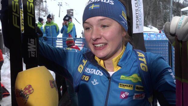 """Linn Persson om personliga rekordet: """"Det var kul i dag"""""""