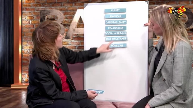 Bara Politik: Se intervjun med Malin Björk (V)