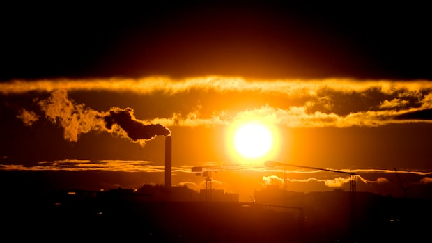 Så är halterna av koldioxid i atmosfären