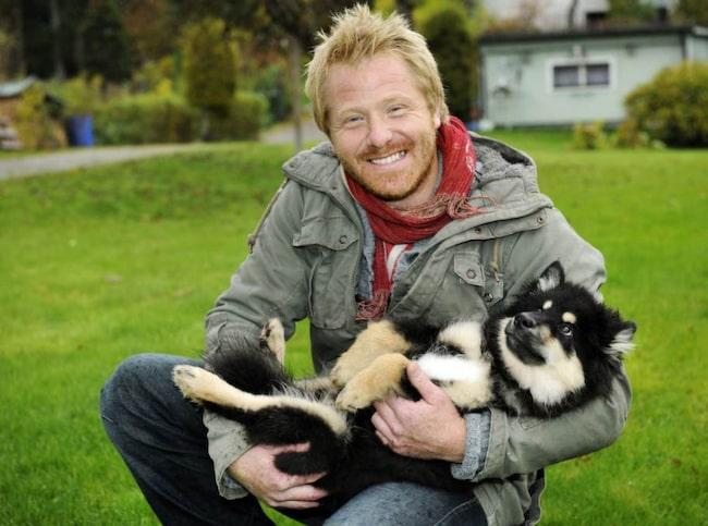 Fredrik Steen är hundexpert.