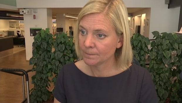 """Magdalena Andersson: """"Det är inte att ta ansvar"""""""