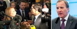 Stefan Löfvens öde  avgörs i riksdagen