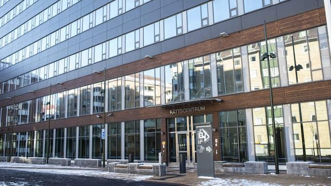 Rättscentrum i Malmö – här pågår under söndagen en häktningsförhandling mot en misstänkt. Foto: FOTOGRAF JENS CHRISTIAN / EXPRESSEN/KVÄLLSPOSTEN