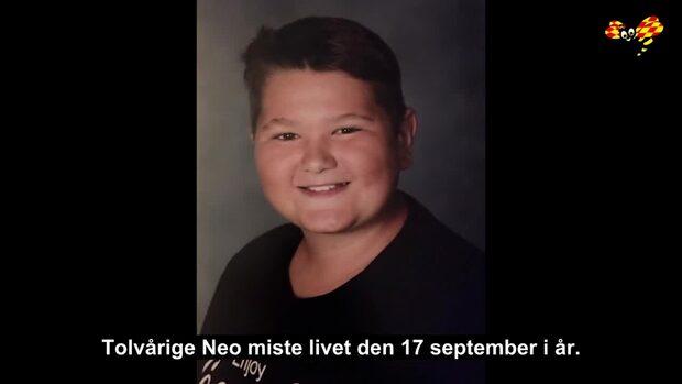 Neo, 12, dog i bilkraschen utanför Svedala i Skåne