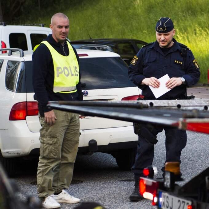 Polisen utesluter inte att det kan röra sig om ett hatbrott. Foto: Robin Aron