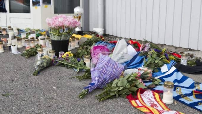 """Birgitta Vigren är mamma till den dödade pappans bästa vän. """"Det är så tragiskt"""", säger hon. Foto: Theo Elias Lundgren"""