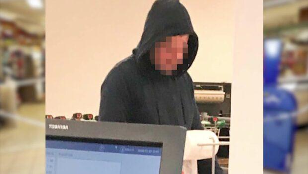 Knivmannen skakade hand med polisen – under rånet