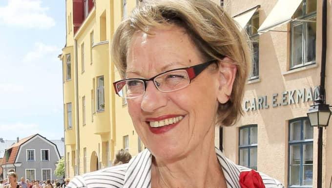 Gudrun Schymans parti Feministiskt initiativ får hjälp av stora delar av Sveriges artistelit. Foto: Cornelia Nordström