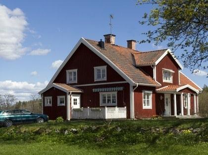HEMMA HOS Bonde Magnus om sitt stora hus på landet Leva& bo Expressen Leva& bo