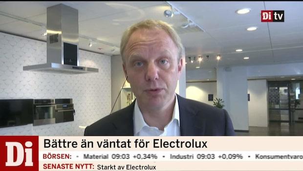 Electrolux vd Jonas Samuelson om rapporten