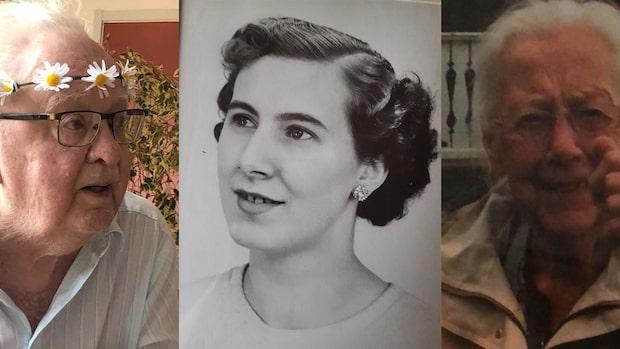 Elving, Irene, Torborg och Ingemar dog – hör deras familjer berätta