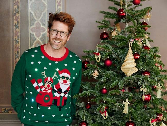 """""""Numera vill man experimentera mer och det syns också i pyntandet"""", säger Stefan """"Trendstefan"""" Nilsson om julens inredningstrender."""
