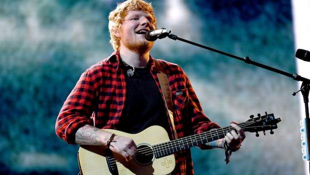 Glädjebeskedet: Ed  Sheeran till Sverige
