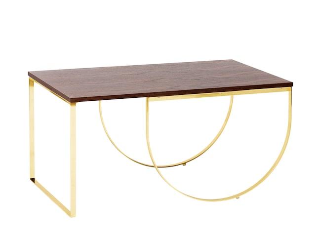 Soffbord Bianca känns både strikt och mjukt på samma gång.