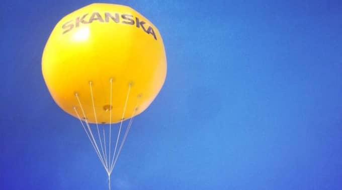 Vad har hänt med Skanskas heliumballong? Den är spårlöst försvunnen.